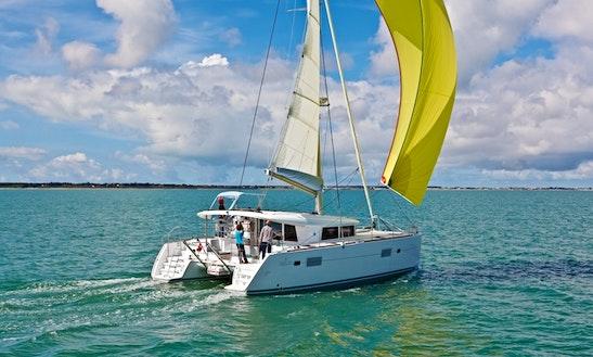 Lagoon 400-s2 Sailing Catamaran Charter In Pape'ete