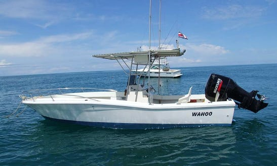 25' Center Console Fishing Boat In Quepos