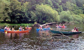 Canoeing Trips in River Dart, UK