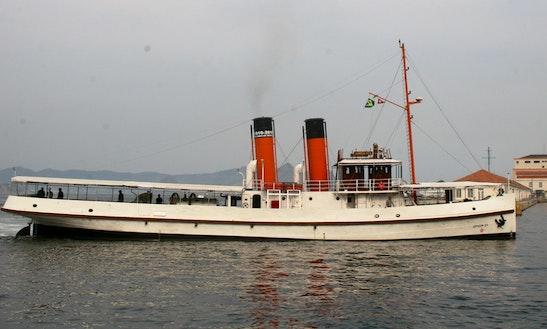 Historical Tug Ship Rebocador Laurindo Pitta In Rio De Janeiro, Brazil