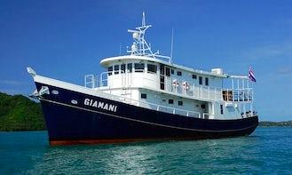 M/V Giamani Livaboard Diving Boat in Phuket, Thailand