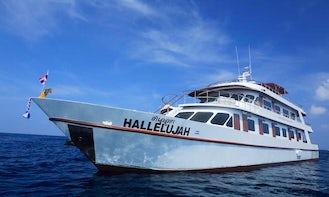 M/V Hallelujah Livaboard Diving Boat in Phuket, Thailand