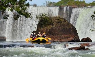 White Water Rafting In Brazil