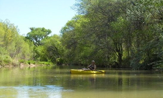 Single Kayak Rental & Guided Trips In San Antonio