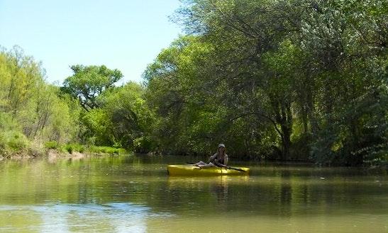 Single Kayak Rental & Guided Trips In San Antonio