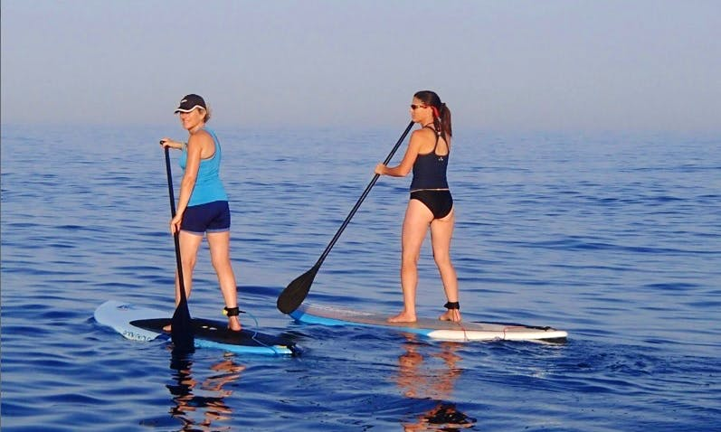 Stand Up Paddle Lessons In Caesarea