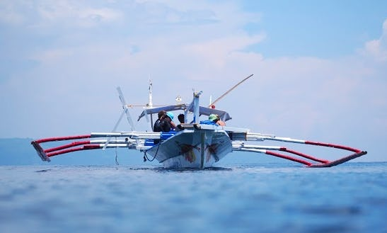 Row Boat For  Scuba Diving In Thailand