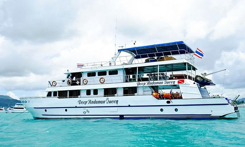 Mv Deep Andaman Queen Livaboard Diving Boat In Phuket