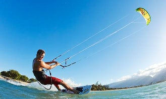 Kite Surfing in panay island