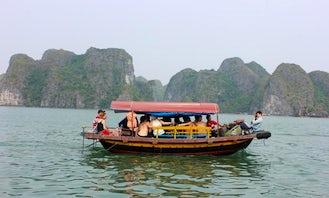 Feel the fresh air of the ocean in Hanoi Hà Nội, Vietnam on this Boat