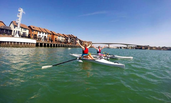 Rowing Boat Lessons In Southampton