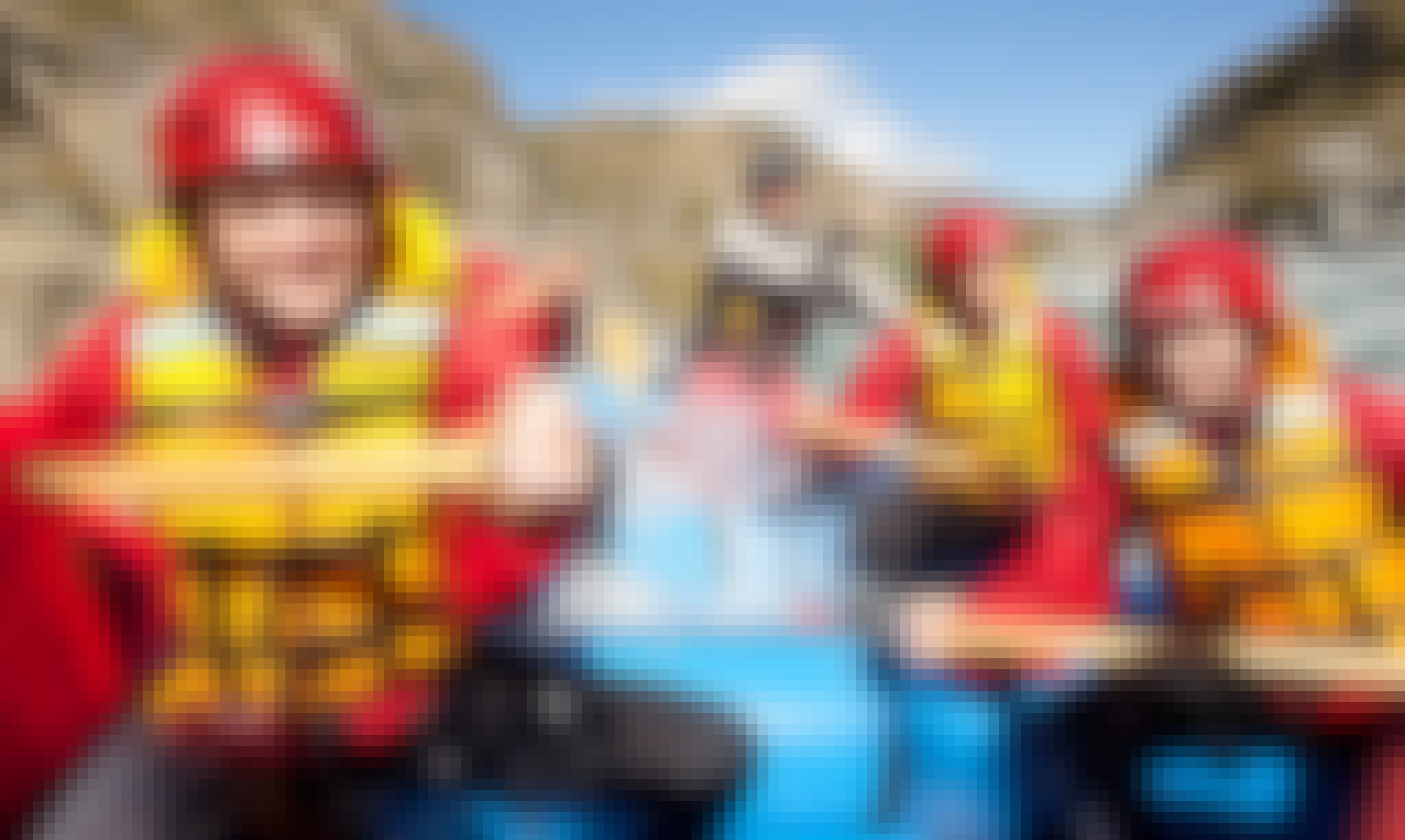 Extreme Green Rafting in Queenstown, New Zealand