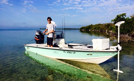 Fishing Charter On 21ft 'warbird' Canyon Bay In Islamorada, Florida