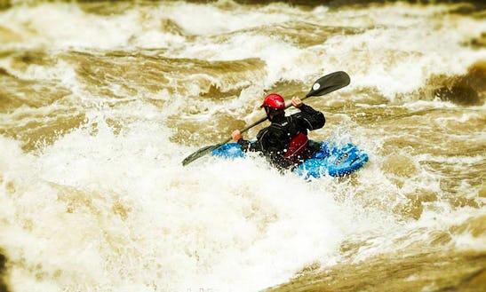 Fun Whitewater Kayak Rafting Trips In Baños De Agua Santa, Ecuador