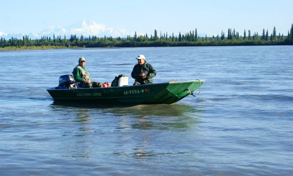 Guided Lodge Fishing on Lake Creek