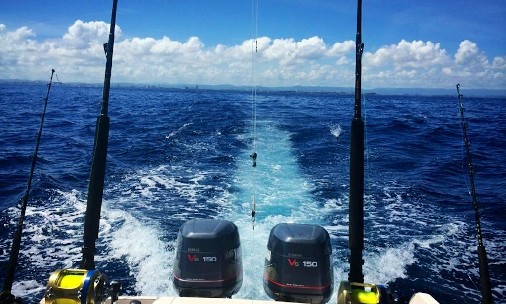 Fishing charter on 24 39 grady white center console in san for San juan fishing charters