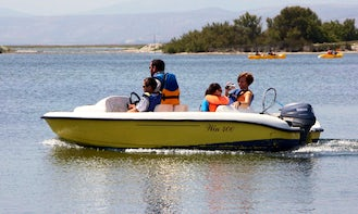 Gorgeous Win 400 Deck Boat For Hire in Leucate