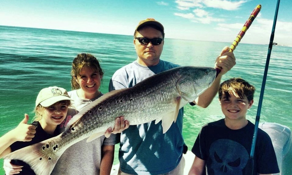 Inshore fishing on 22 39 cape horn boat in destin florida for Florida 3 day fishing license