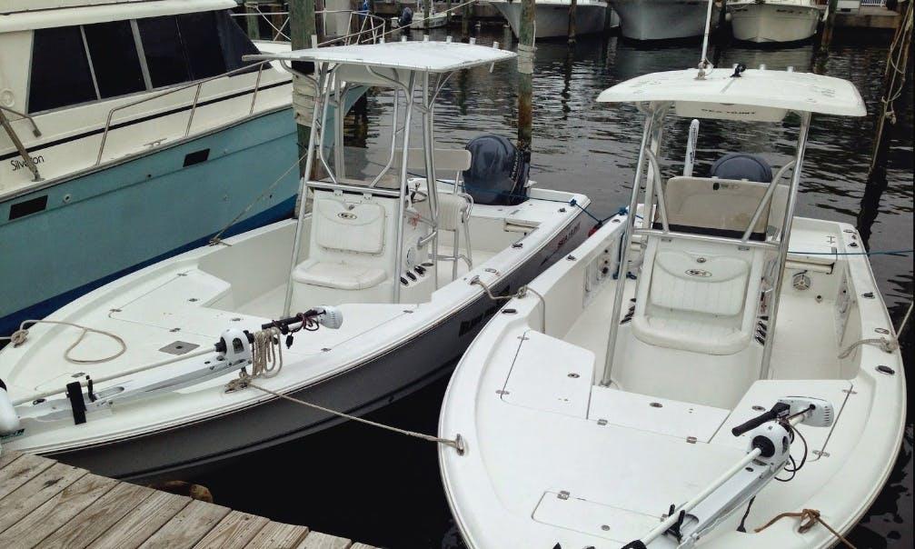 Inshore Fishing Charter On 26' Sea Fox Boat In Destin, Florida