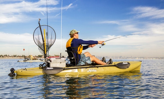 Hobie Outback Kayak Rental & Guided Tours In Playa Flamingo