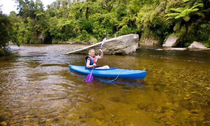 Kayak Rental & Guided River Kayaking in Paparoa National Park