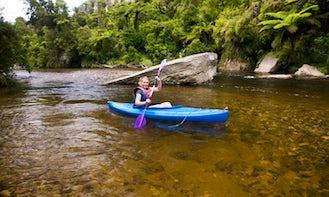Kayak Rental & Guided River Kayaking in Paparoa National Park