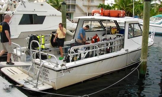 Dive Boat In Tavernier