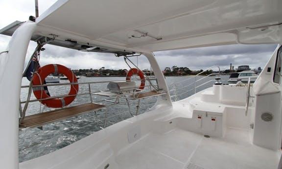Hire 38' Sailing Catamaran on Sydney Harbour