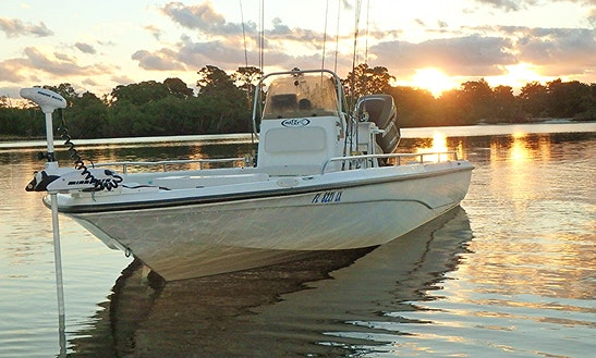 24' Center Console Charter In Jupiter, Florida (with Captain Only)