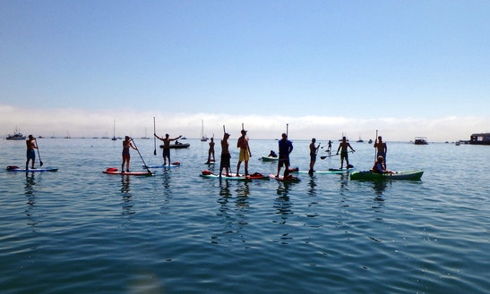Stand Up Paddleboard Rental & Classes In Avila Beach