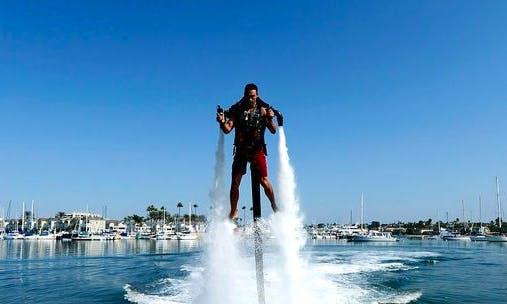 Water Jet Pack Rides in Turi Beach