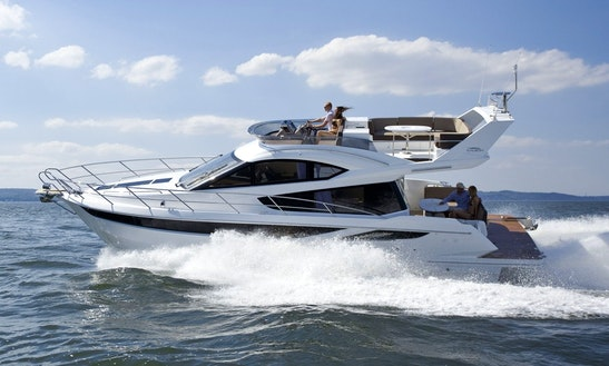 Galeon 42 Motor Yacht Charter In Palma