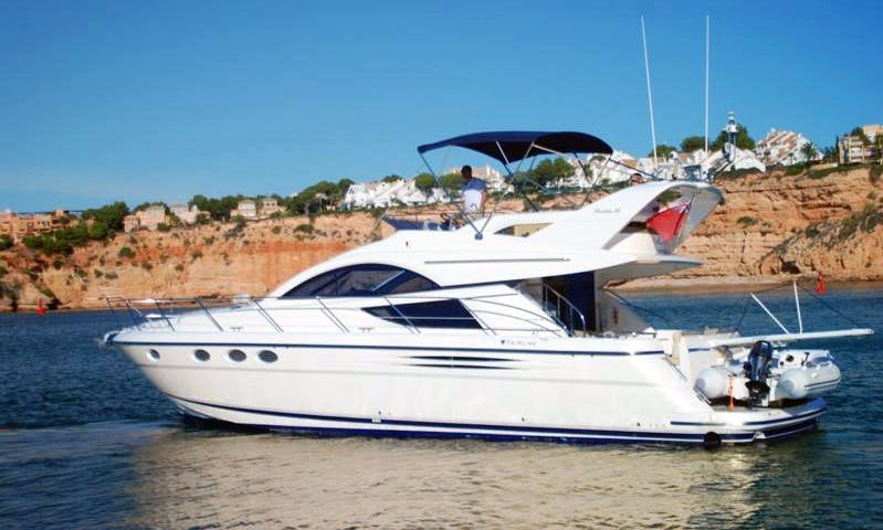 Fairline Phantom 46 Yacht Charter in Portals Nous