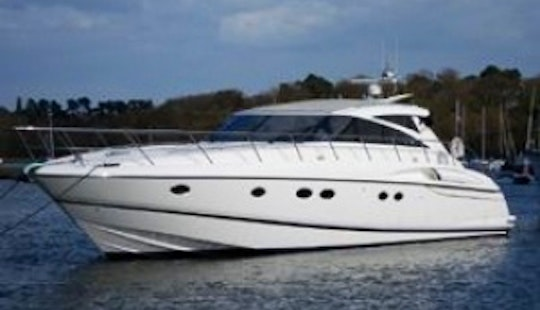 Princess V58 Motor Yacht Charter In Portals Nous, Spain