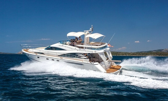Fairline Squadron 58 Yacht Charter In Palma