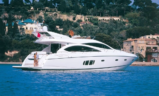 Sunseeker Manhattan 70 Yacht Charter In Palma