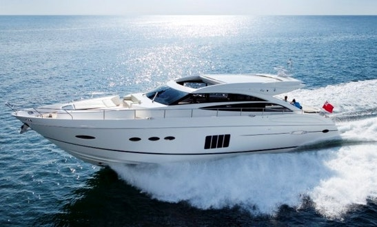Princess 72 Motor Yacht Charter In Portals Nous