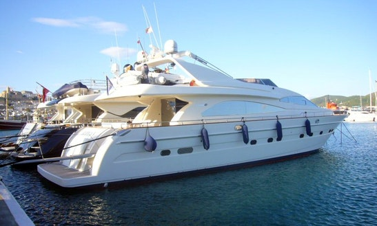 Astondoa 82 Motor Yacht Charter In Portals Nous