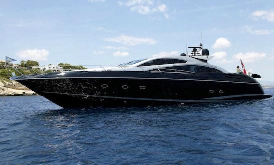 Sunseeker Predator 82 Yacht Charter In Port Adriano