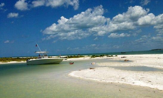 Enjoy 20' Cobia Boat Fishing Charter In Marco Island, Florida