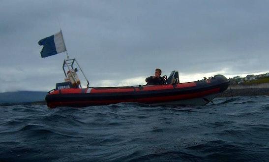 Dive Boat In Sligo