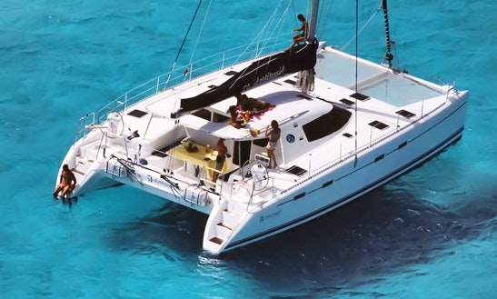 Nautitech 47 Cruising Catamaran Charter In Iraklio, Greece