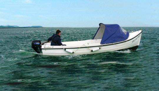 Hire 17' Fishing Boat In Wicklow