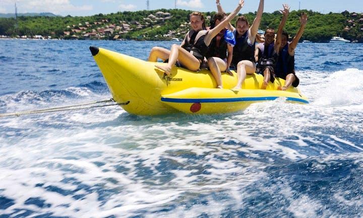 Fun water Sport of Banana Boat Ride 1Round