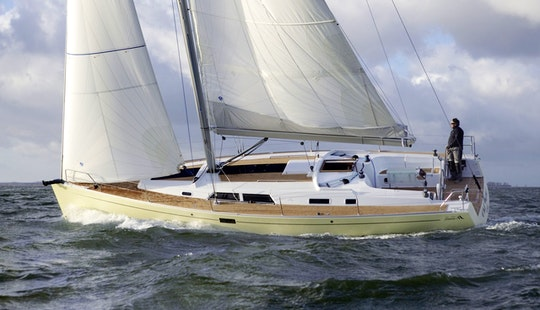 Charter A 43ft Hanse Sailing Yacht In Valencia, Spain For Up To 10 People