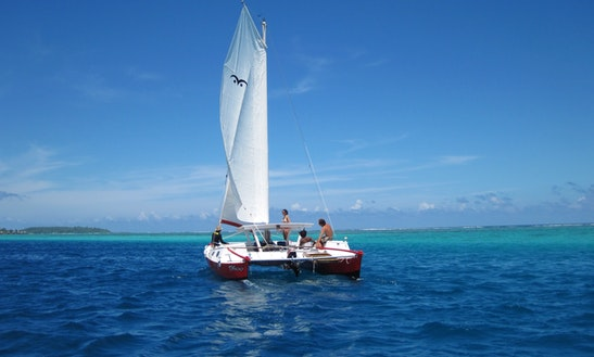 30' Sailing Catamaran In Vai'are