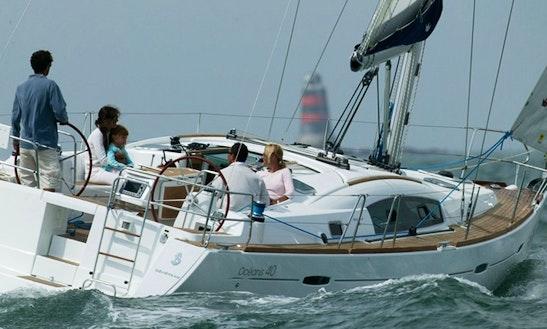 Charter Océanis 40 Sailing Yacht In La Rochelle