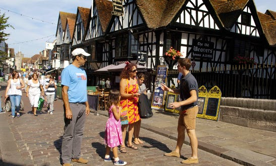 Amazing Guided Tour In Canterbury, United Kingdom On This Row Boat