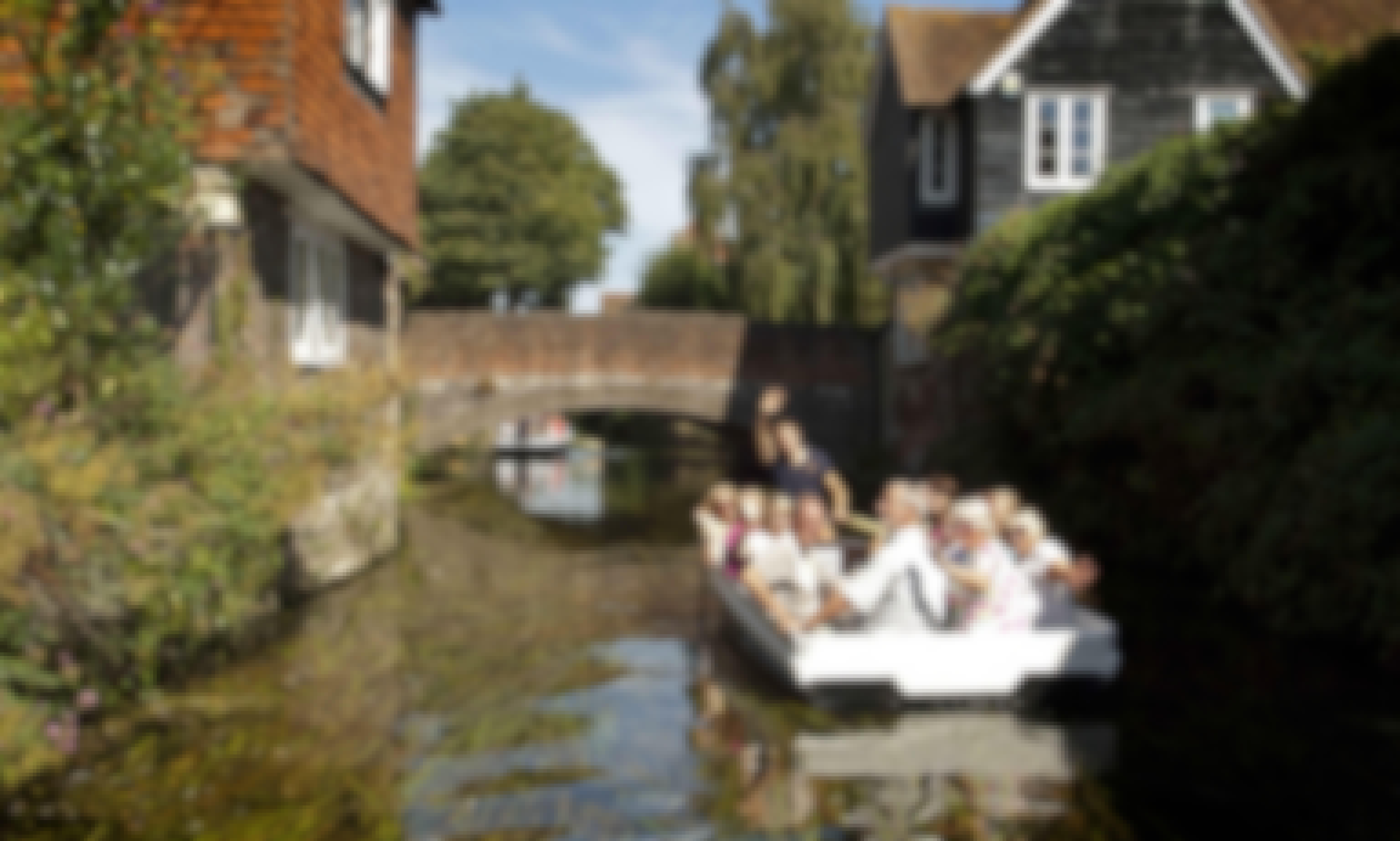 Explore Canterbury, United Kingdom on this Row Boat