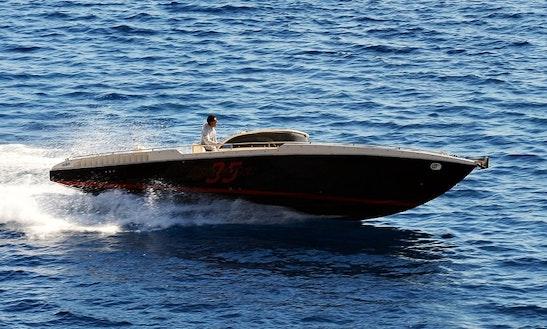 'iguana' Speed Boat 35 Charter In Santorini